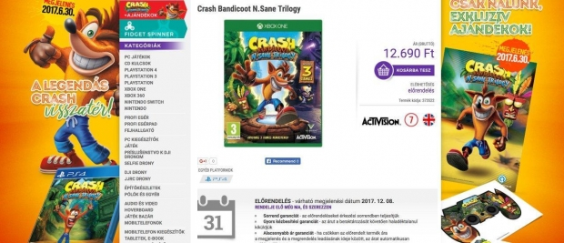 Crash Xbox One