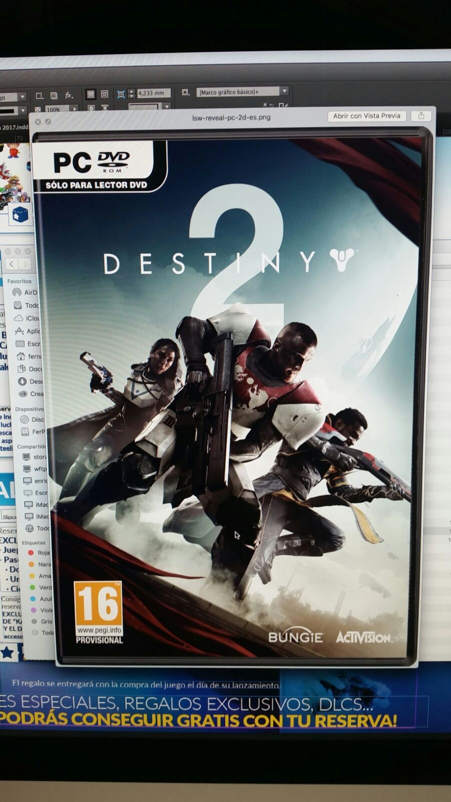 Destiny 2 box