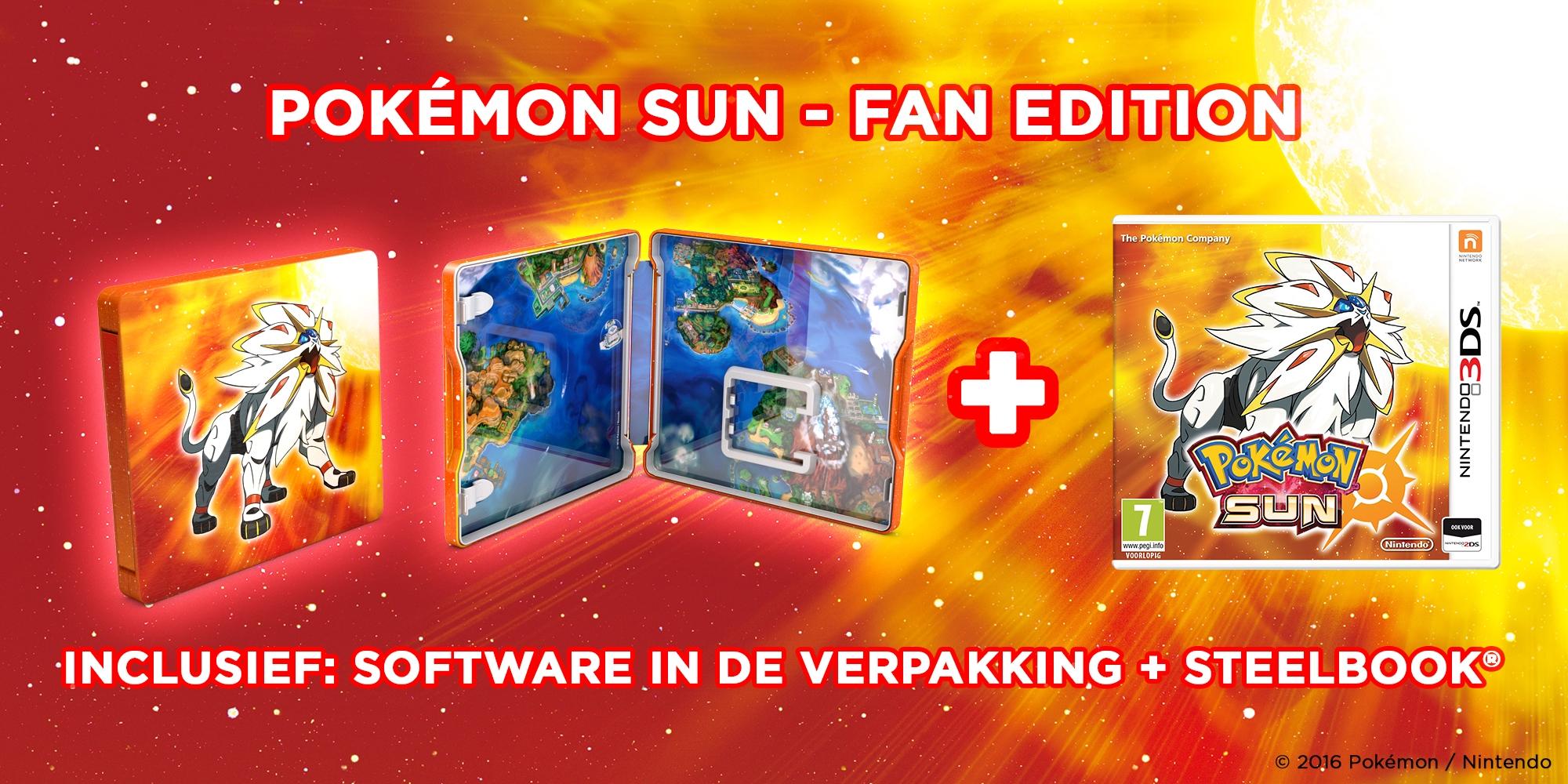 Fan Edition Pokemon Sun