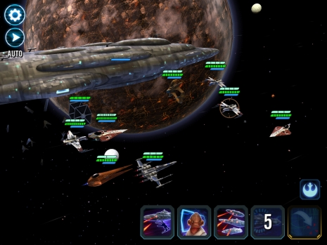Galaxy of Heroes Ships Update