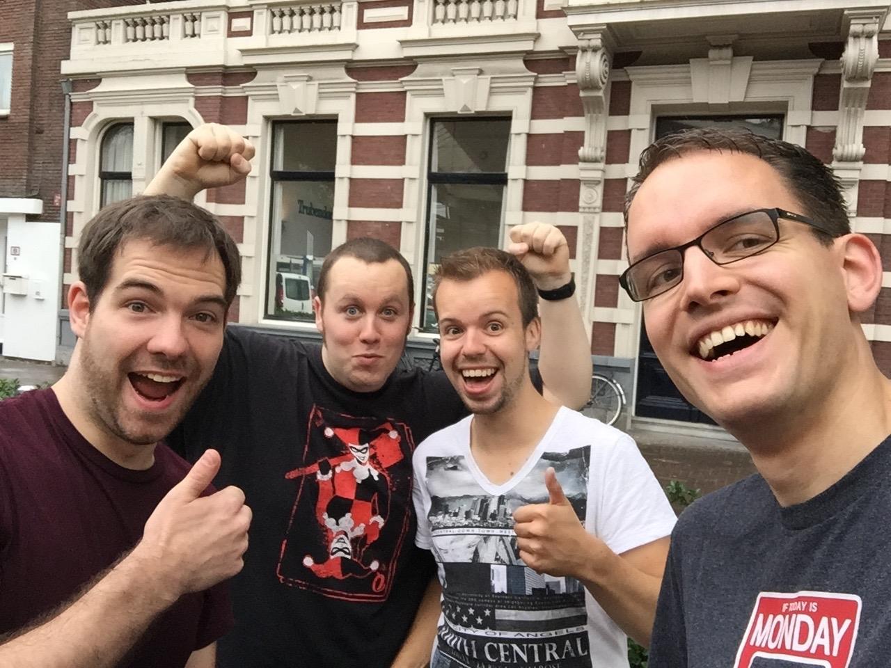 Gamescom 2015 team