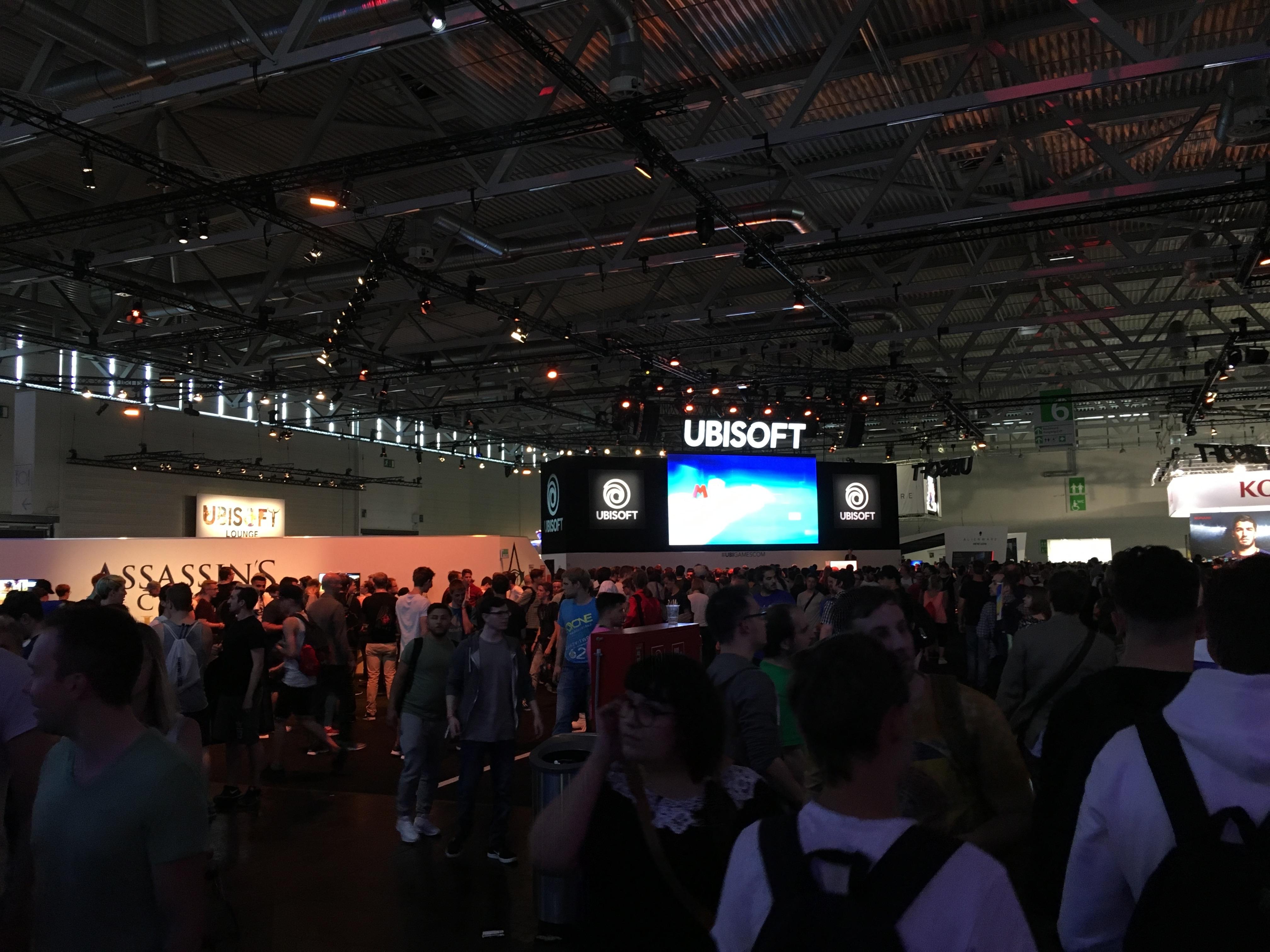 Gamescom Ubisoft 2017
