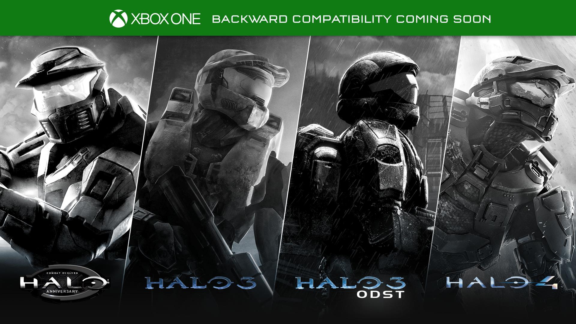 Halo Backwards