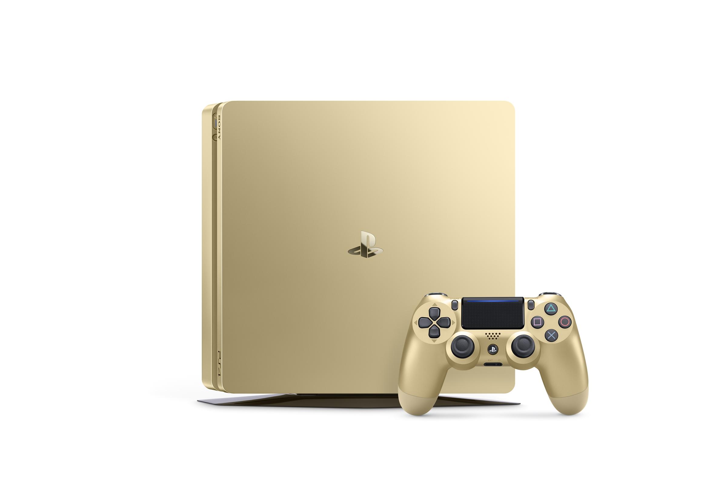 PlayStation 4 Goud