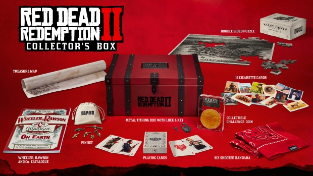 Red Dead 2 Collectors Box