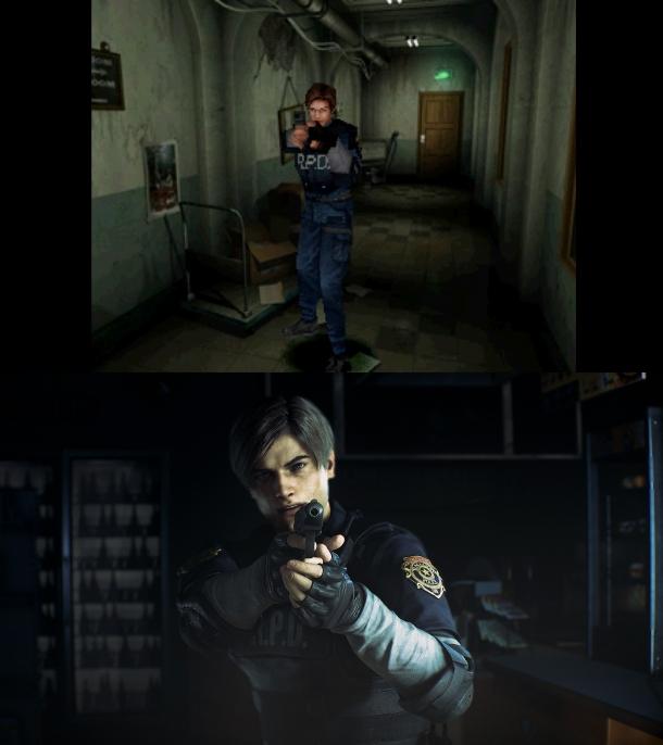 Resident Evil 2 Remake verschil 02