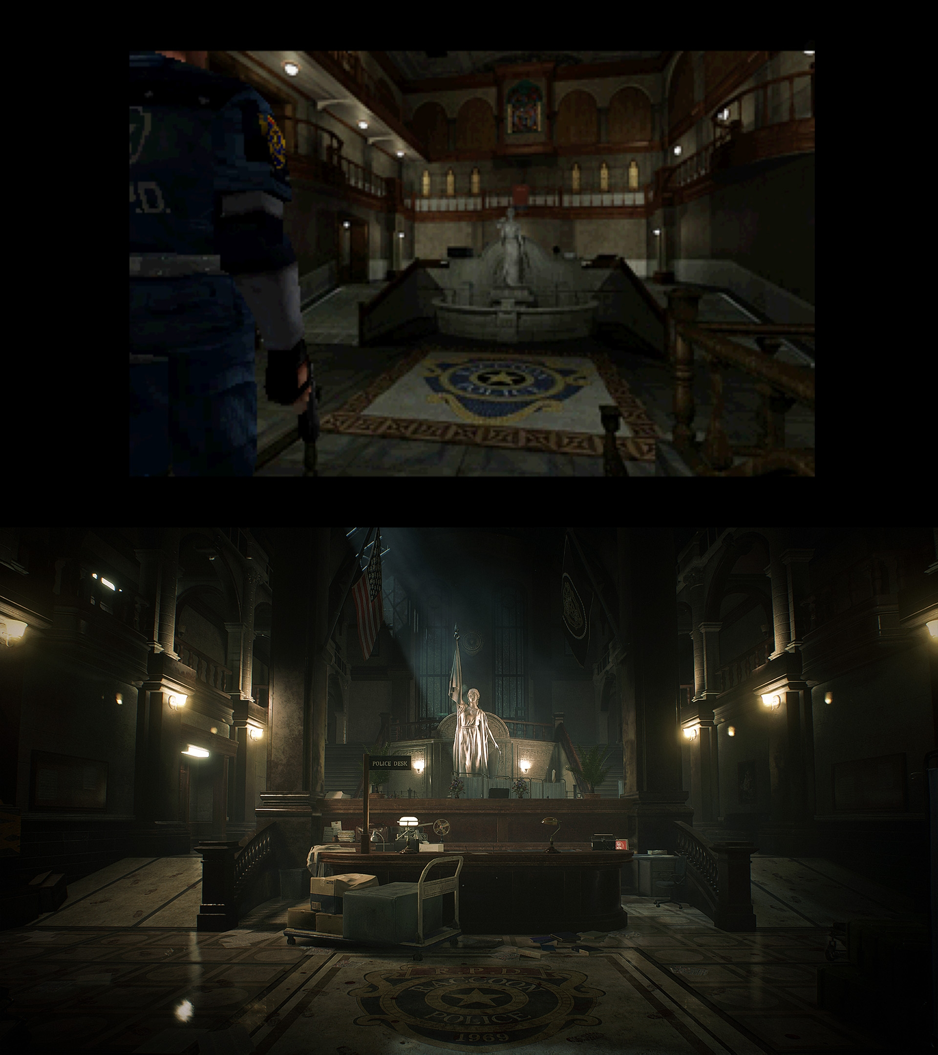 Resident Evil 2 Remake verschil 03