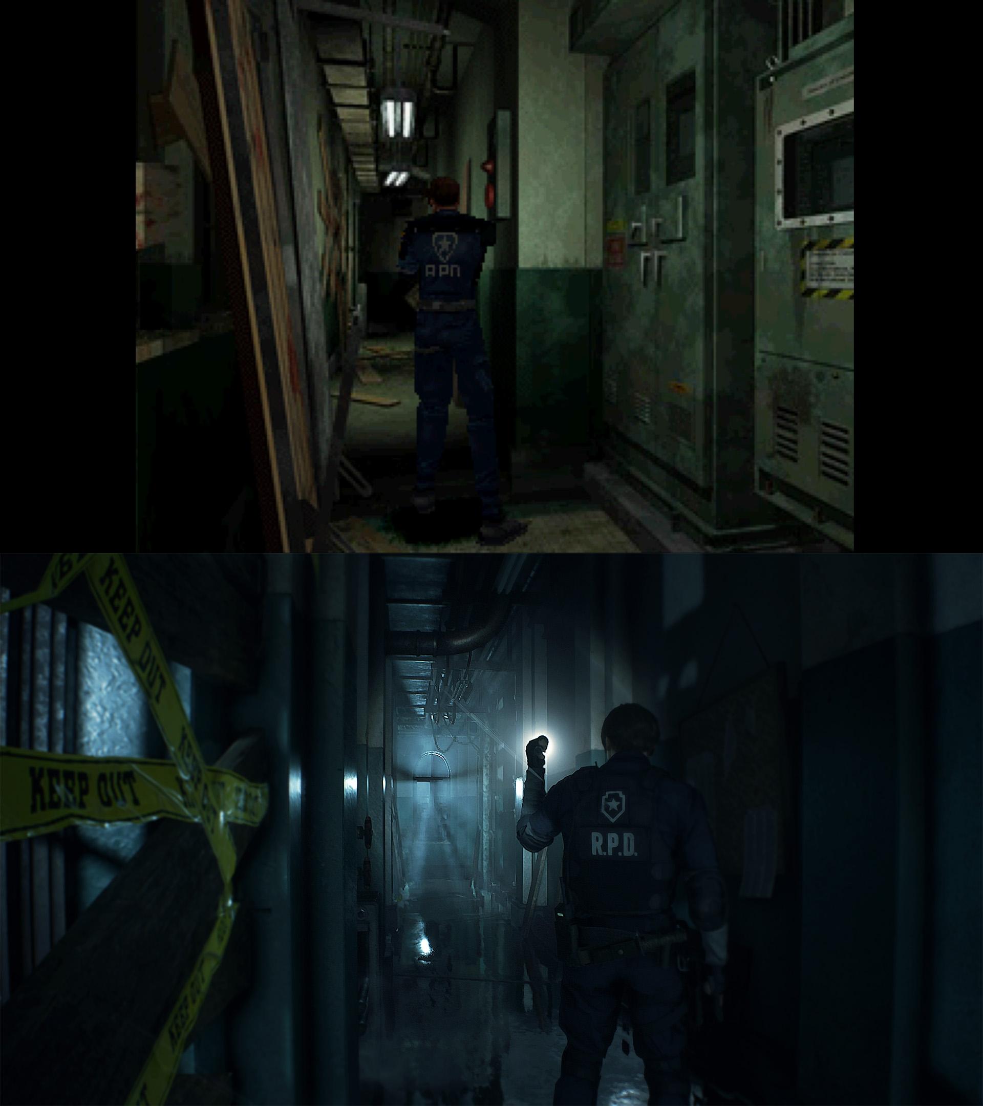 Resident Evil 2 Remake verschil 04