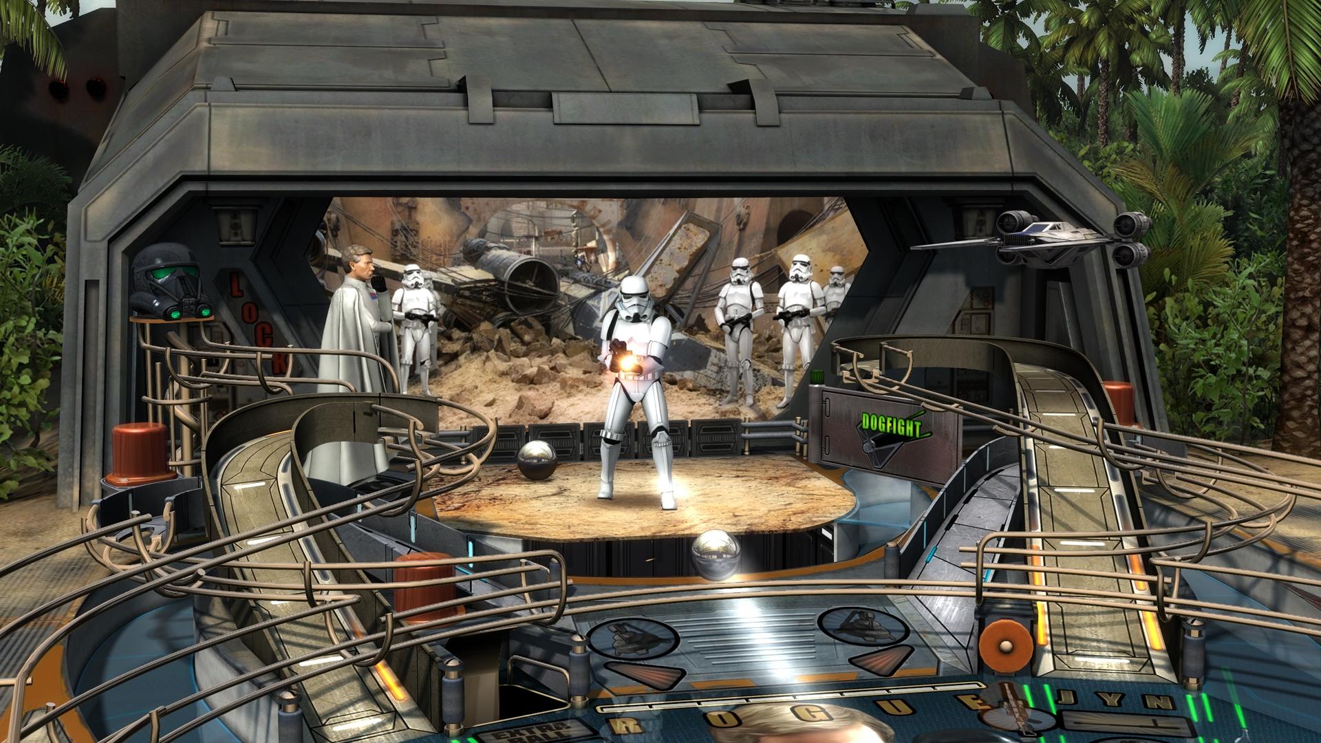 Star Wars Pinball Rogue One