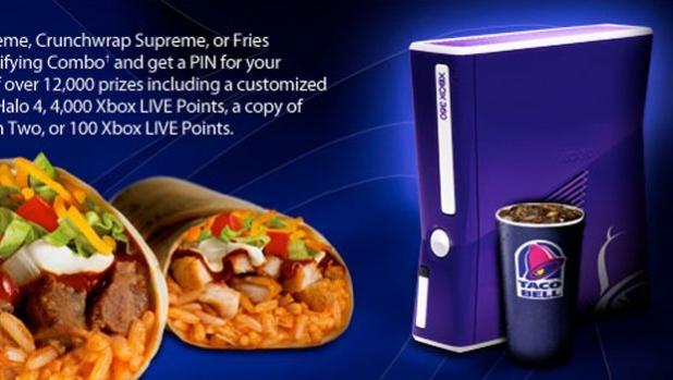 Taco Bell Xbox 360