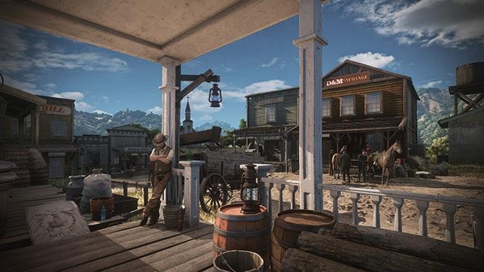 Wild West Online 01