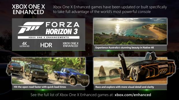 Forza Horizon 3 Xbox One X