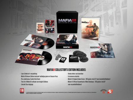 Mafia 3 collector's edition