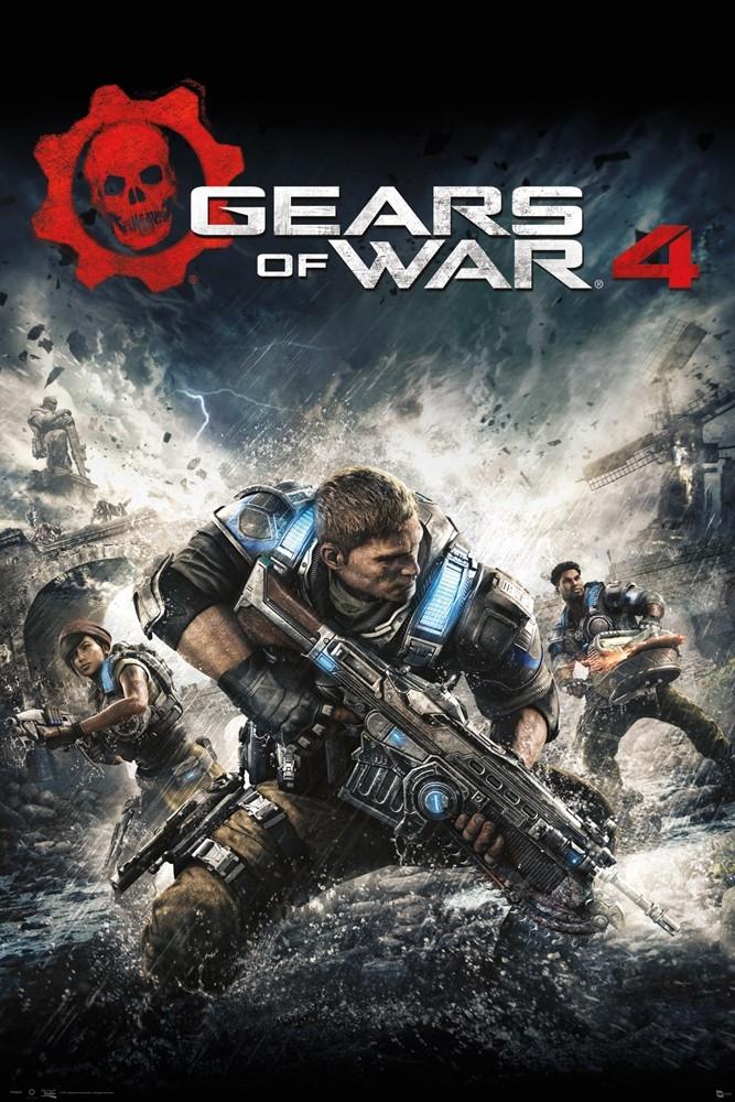 Poster Gears of War 4