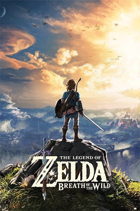Poster The Legend of Zelda Breath of the Wild