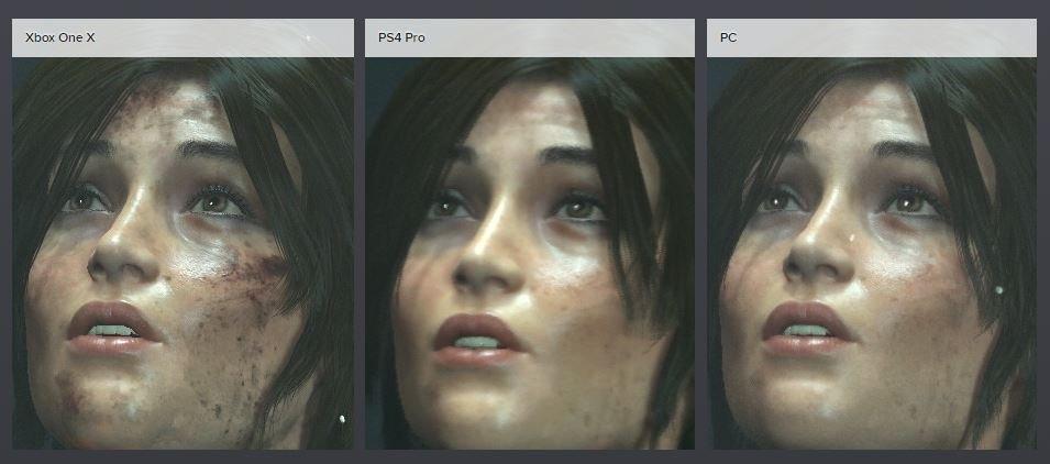 Rise of the Tomb Raider vergelijking