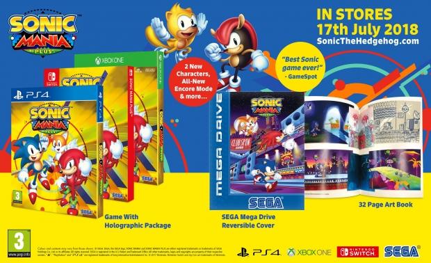 Sonic Mania Plus pakket