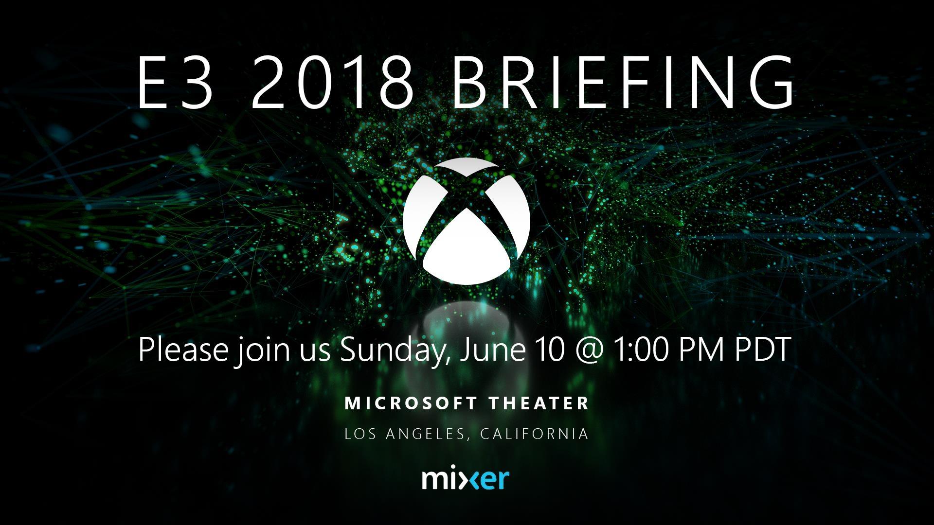 Xbox E3 2018 invite