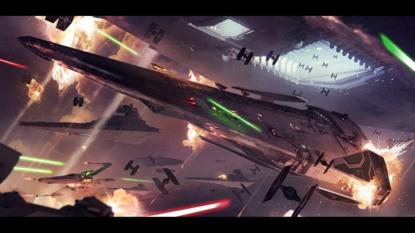 Star Wars Battlefront II Concept Art