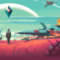 Gameplaybeelden van No Man's Sky