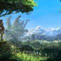 Horizon: Zero Dawn The Frozen Wildlands – Landscape trailer