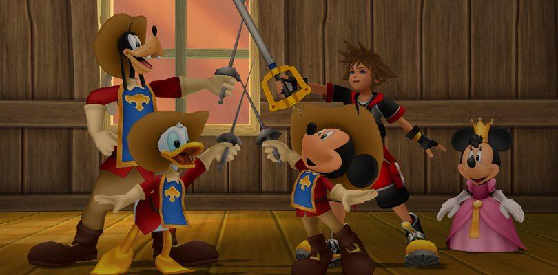 Kingdom Hearts III gooit het haar los in de nieuwe Tangled-trailer