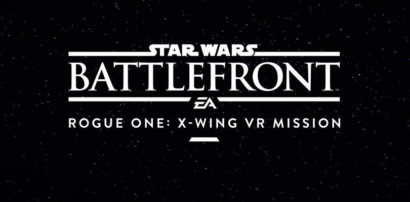 Star Wars Battlefront Rogue One X-Wing VR Mission krijgt datum