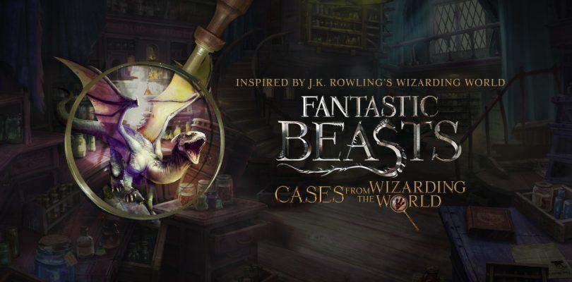 Fantastic Beasts: Cases from the Wizarding World nu beschikbaar voor iPhone, iPad en Android-apparaten