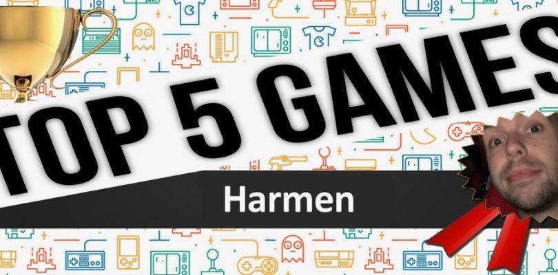 2016, de top 5 van Harmen