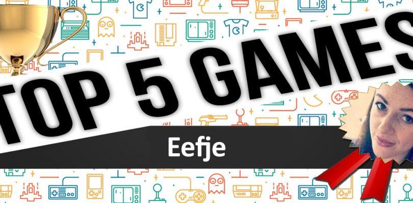 2016, de top 5 van Eefje