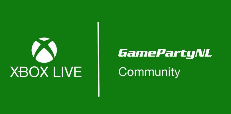 Sluit je aan bij de GameParty Xbox One community!