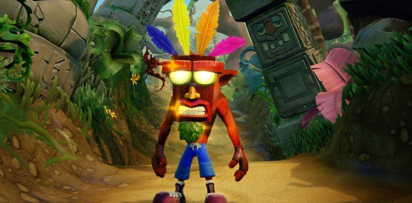 Crash Bandicoot: Nsane Trilogy naar pc, Xbox One en Switch
