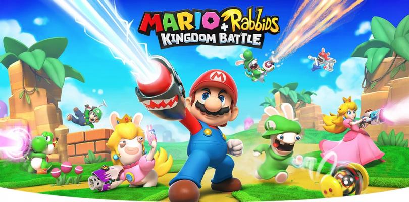 Mario + Rabbids Kingdom Battle Donkey Kong Adventure krijgt trailer en datum #E32018