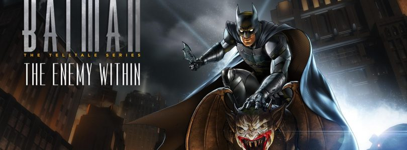 Trailer voor Telltale's Batman: The Enemy Within