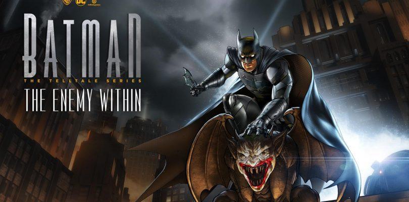 Batman: The Telltale Series komt op 17 november naar Switch