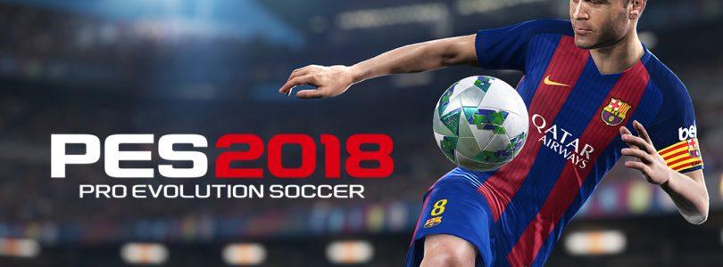 PES 2018 demo vanaf vandaag beschikbaar