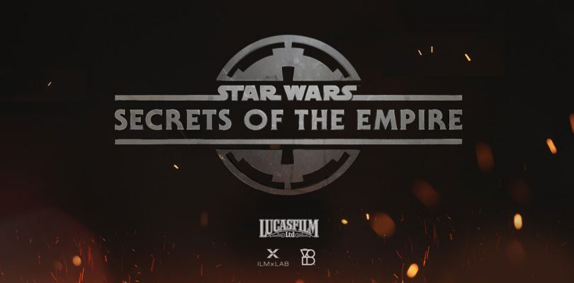Trailer voor 'hyper-reality experience' Star Wars: Secrets of the Empire