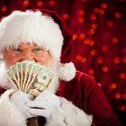 Wát een cashcow, die kerstman?!