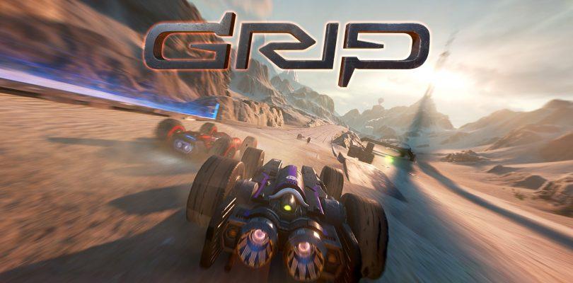 Futuristische combat racer Grip komt naar de Xbox One, PlayStation 4, Nintendo Switch en PC