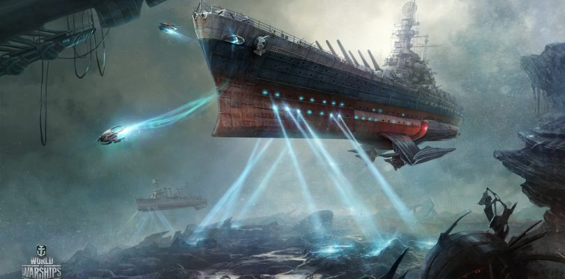 World of Warships wordt Space Warships