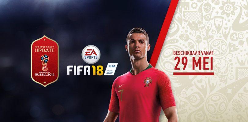EA kondigt gratis 2018 FIFA World Cup Russia content aan voor FIFA 18