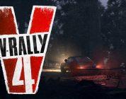 V-Rally 4 toont de spelstanden V-Rally Cross en Buggy in trailer
