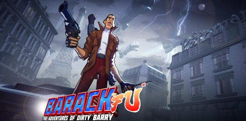 Barack Fu: The Adventures of Dirty Barry officieel onthuld als bonusgame voor Shaq Fu